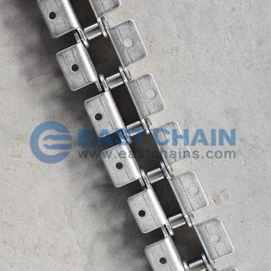 Double Pitch Roller Chain With A1/K1/WA2/WK2 Attachment